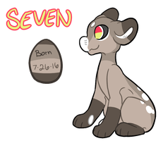 Seven the Evoloon by Cerothus
