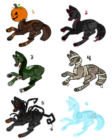 Halloween Adopts 3/6 OPEN by DesignGods
