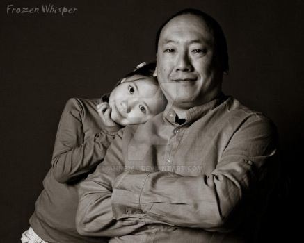 Father and daughter by Anne264