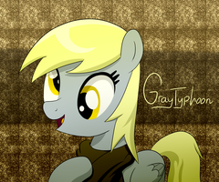 Derpy's Scarf by GrayTyphoon