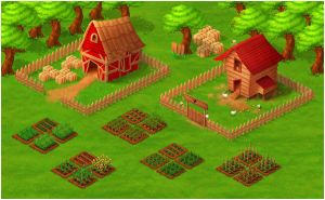 Farm Social Game VisDev by diegodandrea