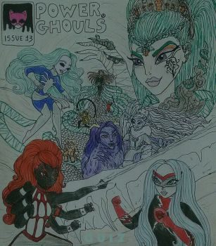 Power Ghouls / Issue 13 - Mission Scairo by GuiZSTAR