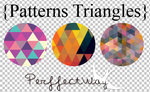 {Patterns Triangles} by PerffectWay