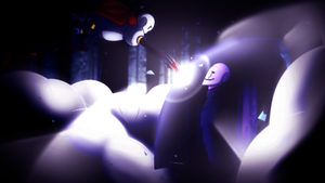 RE:Incarnation - Papyrus and Gaster by iAbokai