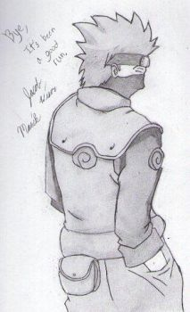 Kakashi Hatake by Marik-of-the-Shadows