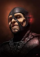 Farscape Scorpius by Lun-art