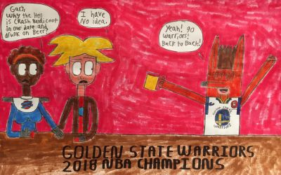 Golden State Warriors 2018 NBA Champions by DylanRosales