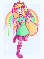 Star Butterfly by treblakochka