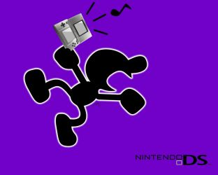 Mr. Game and Watch DS Ad by MaikeruGo