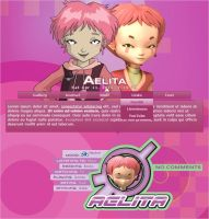 Aelita Journal Skin by A-queenoffairys