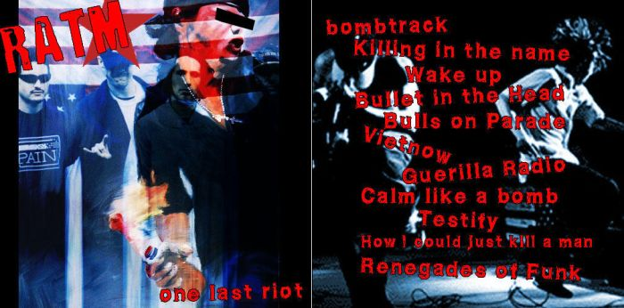 One Last Riot -entry4 by ratm-club