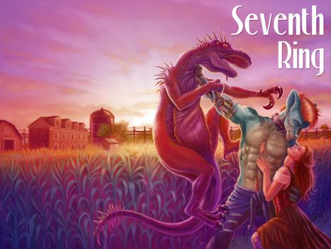 Seventh Ring ~ fictional cover to real story by jadamfox