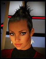 ReBoot Uniform Uhura 02 by mylochka