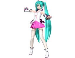 Project Diva Arcade Future Tone Galaxy Miku by WeFede