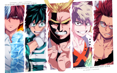 Heroes | Collab by AJM-FairyTail