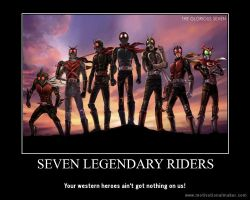 The legendary seven by stickinaroundforever