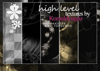 high level textures pack by Komaldesignz by neelohoney
