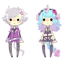 + EASTER SPECIAL!  Linocusavis Adopts Set 3 closed by YurisAdopts
