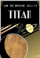 Titan Tourist Poster by SMPritchard
