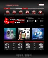 Mobile online web design by sea-weed