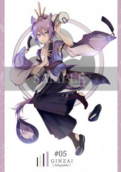 [AUCTION] GINZAI Adopt #05 (CLOSED) by Fuumeh