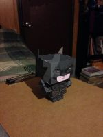 Batman, The Dark Knight Rises CubeeCraft by SuperVegeta71290