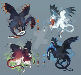 Dragon adopts [ closed, thank you! ] by azira-star-wind