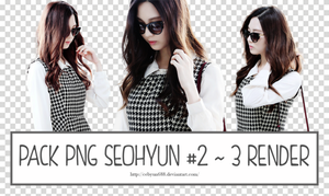 PACK PNG SEOHYUN #2 ~ 3 RENDER by CeByun688