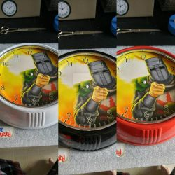 Solaire Wall Clock by The-Great-Geraldo