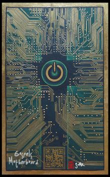 The Gospels Motherboard by somk