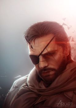 Venom Snake by Arkarti
