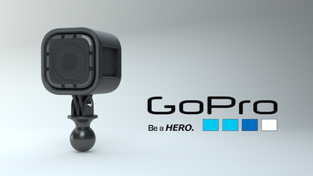 GoPro Product Visualization by FCLittle