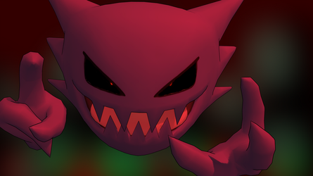 Haunter Pokemon 3ds HD by GuilTronPrime