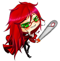 Grell, you foolish lady. by Masqueraderrr