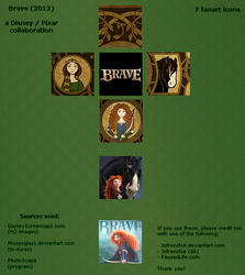 7 Brave icons by Jofrenchie