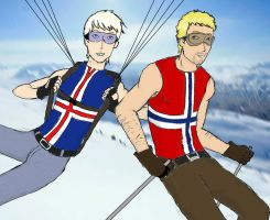 satw - norway, iceland's brother by aldohyeah