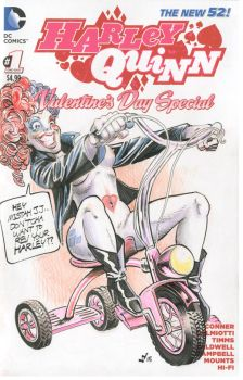 Harley Quinn on a Tricycle by Death-Ray-Graphics
