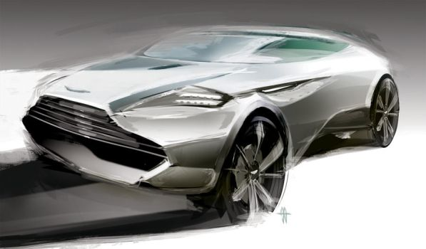 Aston Martin SUV by slime-unit