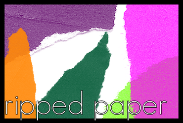 Ripped Paper Brushes by eating-that-sundae