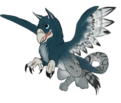 Prize Gryphon for Miidniightsuun by Shadow-Lockheed