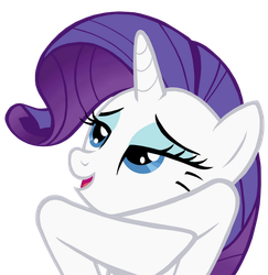 Rarity HS Graduation Portrait Pose Vector by DMN666