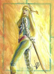 Magik scketchcard by Dreamlord2005