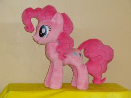 Pinkie Pie is going to live with Andrea Libman by WhiteDove-Creations