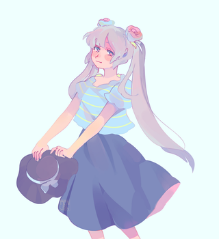 two rose by Rensaven