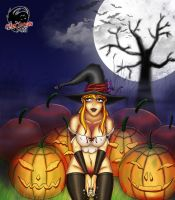 Halloween Witch by Xiraus