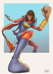 Ms. Marvel by Pryce14