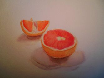 Pamplemousse / grapefruit by Alicecab