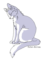 Cat Lineart by glacierpaws