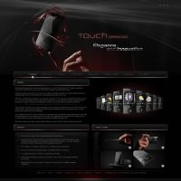 Touch diamond -Website design. by Uribaani