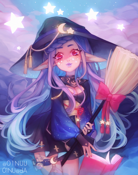 Star Witch by 01nu